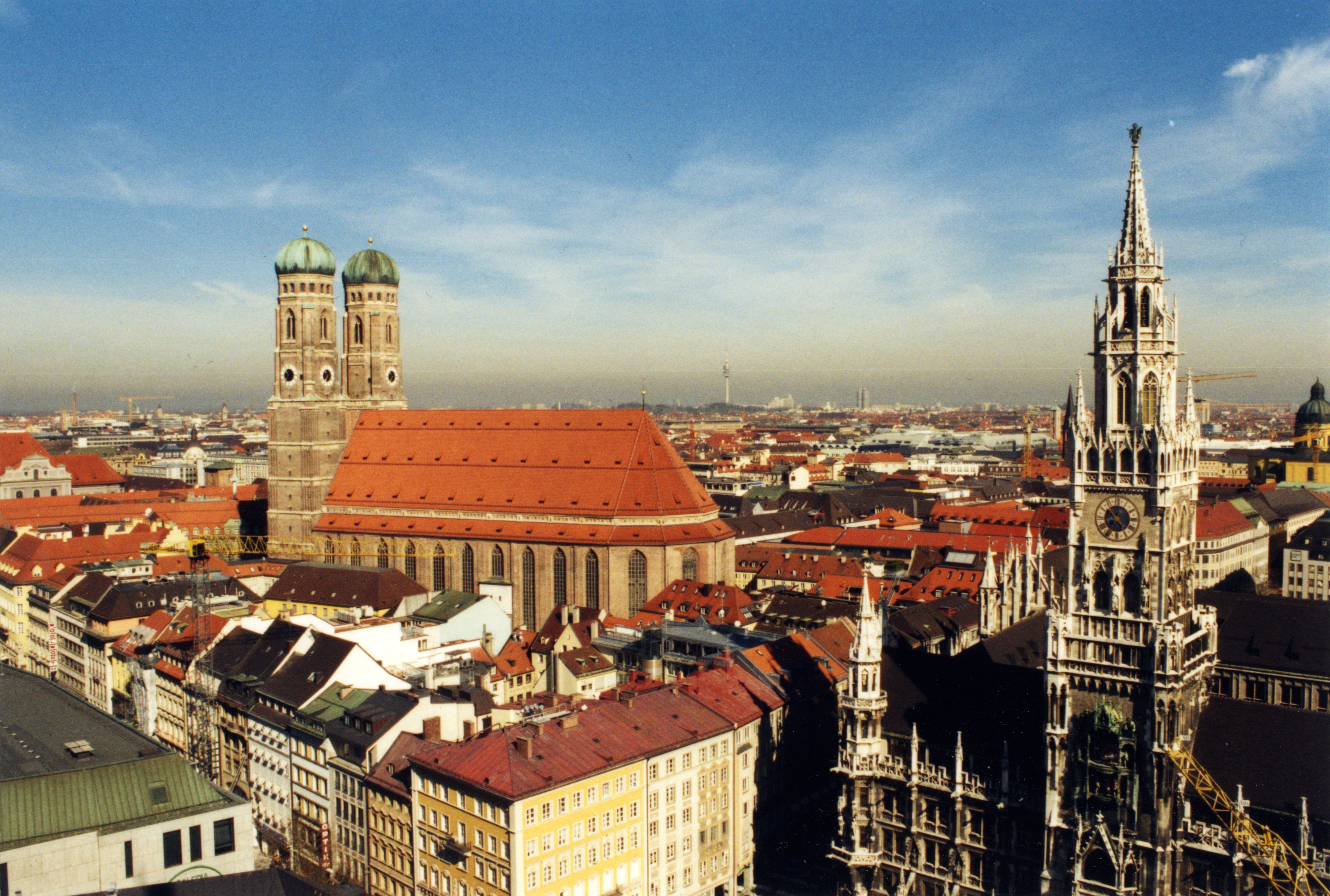 traveling to Munich, Germany