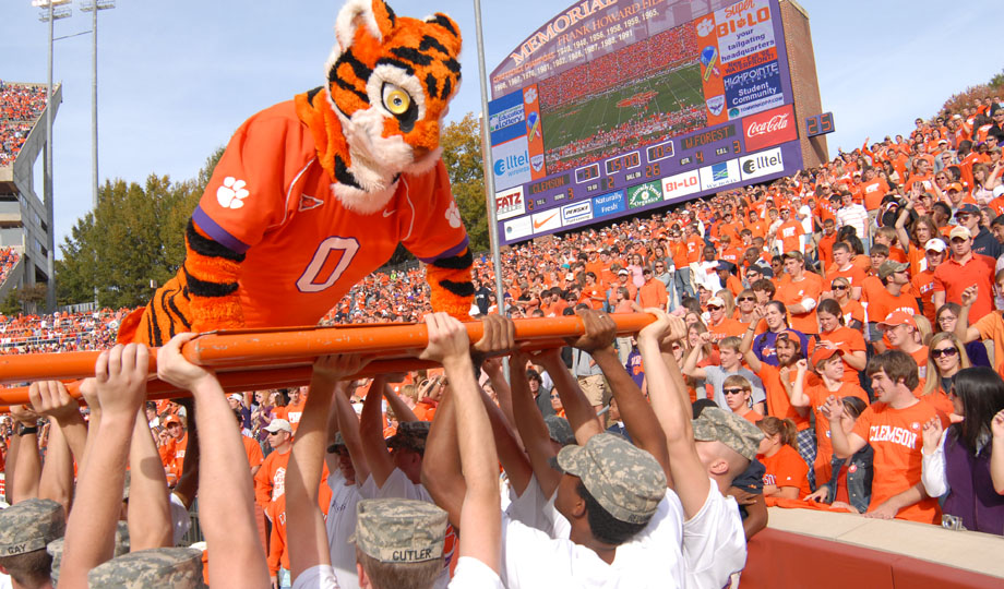Of all the colleges with the happiest students in America, Clemson ranks in our top 10...!