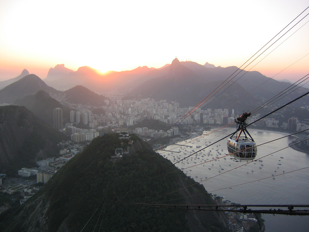 Hiking Sugarloaf Mountain is the perfect way to experience Rio de Janeiro on a student's budget
