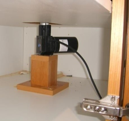 actuator that can be used to raise kitchen cabinets