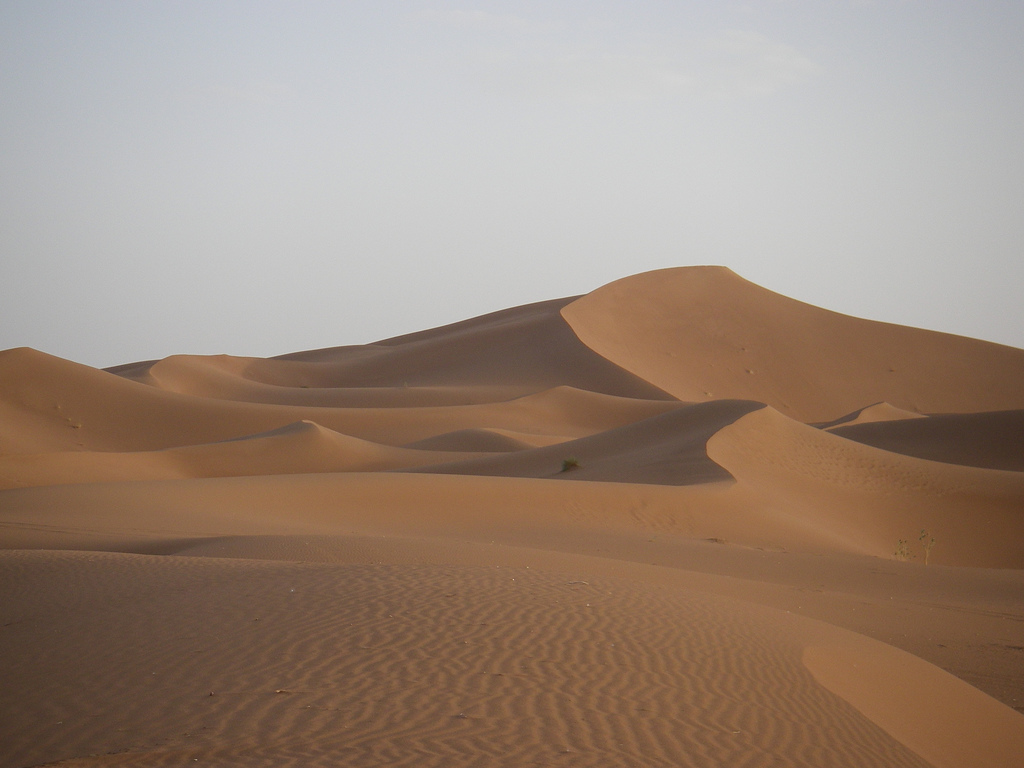 The Sahara Desert is one of the best places for extreme travel in the world ... photo by CC user jries on flickr