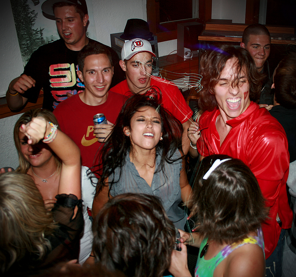 Having a house party instead of hitting the bars is one of the ways students can save money ... photo by CC user symic on Flickr