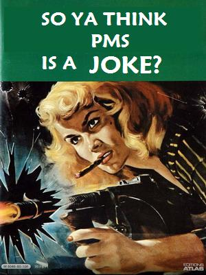 If you're taking to the streets like this, it's time for you to know that PMS affects your blood sugar ... Photo by CC user notionscapital on Flickr