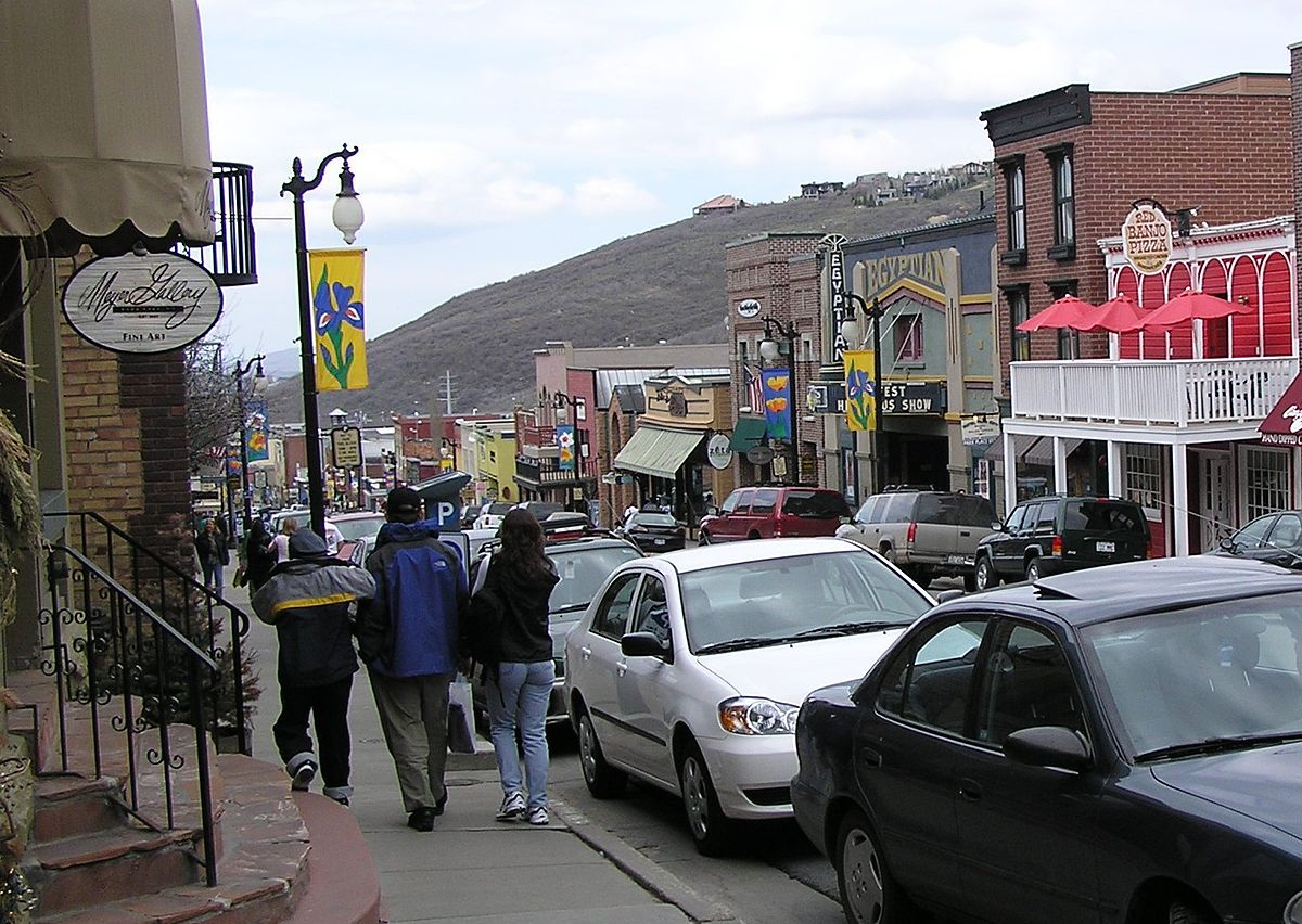 Traveling around Park City is easy and convenient ... photo by CC user Scott Catron on wikimedia