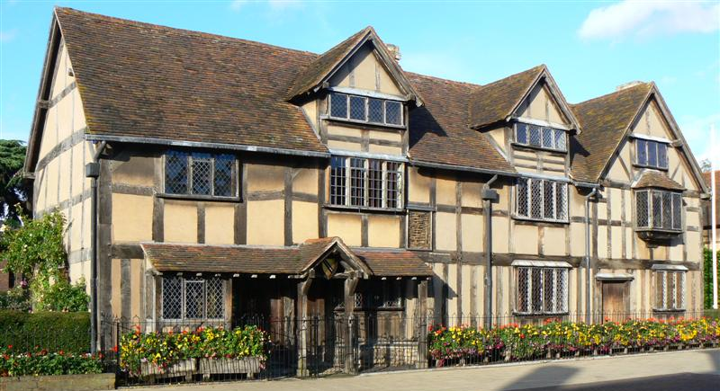 Visiting Shakespeare's houses & gardens are a key facet of any trip to England ... photo by CC user 12859033@N00 on Flickr