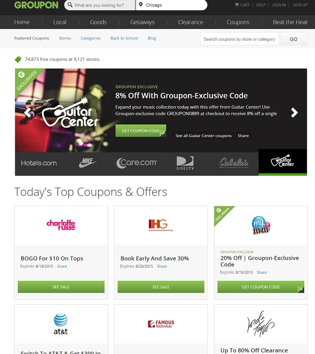 Groupon Coupons for College Blender